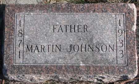 JOHNSON, MARTIN - Clay County, South Dakota   MARTIN JOHNSON - South Dakota Gravestone Photos