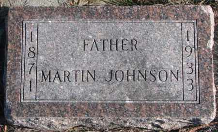 JOHNSON, MARTIN - Clay County, South Dakota | MARTIN JOHNSON - South Dakota Gravestone Photos