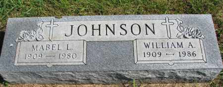 JOHNSON, WILLIAM A. - Clay County, South Dakota | WILLIAM A. JOHNSON - South Dakota Gravestone Photos
