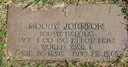 JOHNSON, MOODY - Clay County, South Dakota | MOODY JOHNSON - South Dakota Gravestone Photos
