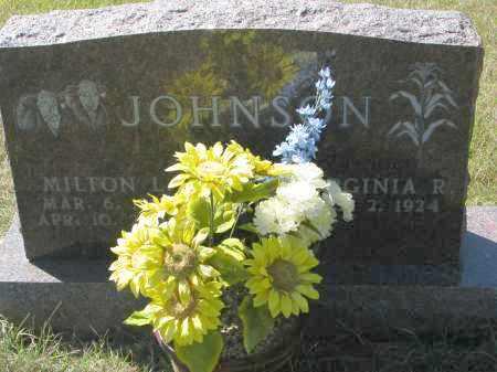 JOHNSON, VIRGINIA R. - Clay County, South Dakota | VIRGINIA R. JOHNSON - South Dakota Gravestone Photos