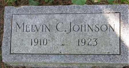 JOHNSON, MELVIN C. - Clay County, South Dakota   MELVIN C. JOHNSON - South Dakota Gravestone Photos