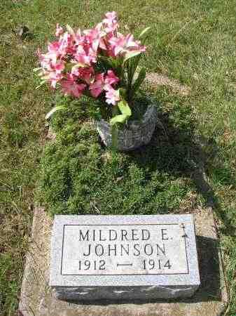 JOHNSON, MILDRED E. - Clay County, South Dakota | MILDRED E. JOHNSON - South Dakota Gravestone Photos