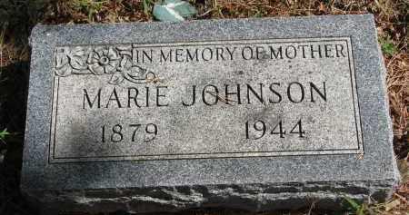 JOHNSON, MARIE - Clay County, South Dakota | MARIE JOHNSON - South Dakota Gravestone Photos
