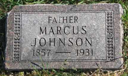 JOHNSON, MARCUS - Clay County, South Dakota   MARCUS JOHNSON - South Dakota Gravestone Photos