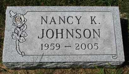 JOHNSON, NANCY K. - Clay County, South Dakota | NANCY K. JOHNSON - South Dakota Gravestone Photos
