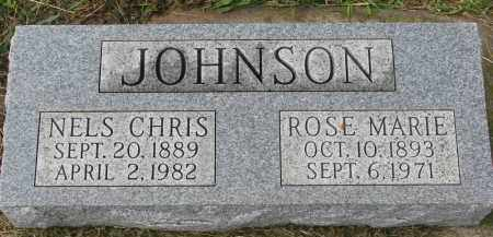 JOHNSON, ROSE MARIE - Clay County, South Dakota   ROSE MARIE JOHNSON - South Dakota Gravestone Photos