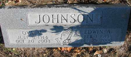 JOHNSON, EDWIN A. - Clay County, South Dakota | EDWIN A. JOHNSON - South Dakota Gravestone Photos