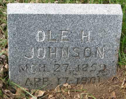 JOHNSON, OLE H. - Clay County, South Dakota   OLE H. JOHNSON - South Dakota Gravestone Photos
