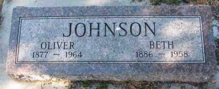 JOHNSON, BETH - Clay County, South Dakota | BETH JOHNSON - South Dakota Gravestone Photos