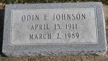 JOHNSON, ODIN E. - Clay County, South Dakota   ODIN E. JOHNSON - South Dakota Gravestone Photos