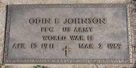 JOHNSON, ODIN E. (WW II) - Clay County, South Dakota | ODIN E. (WW II) JOHNSON - South Dakota Gravestone Photos