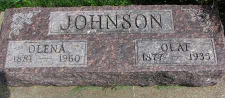 JOHNSON, OLAF - Clay County, South Dakota | OLAF JOHNSON - South Dakota Gravestone Photos