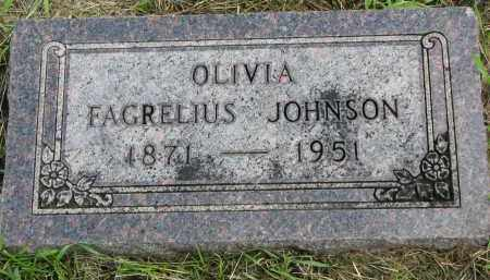 JOHNSON, OLIVIA - Clay County, South Dakota | OLIVIA JOHNSON - South Dakota Gravestone Photos