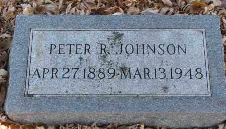JOHNSON, PETER R. - Clay County, South Dakota | PETER R. JOHNSON - South Dakota Gravestone Photos