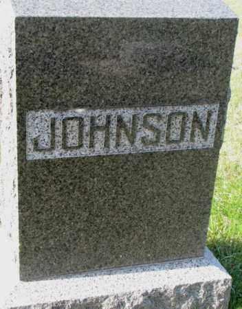 JOHNSON, PLOT - Clay County, South Dakota | PLOT JOHNSON - South Dakota Gravestone Photos