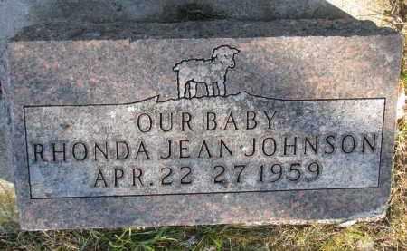 JOHNSON, RHONDA JEAN - Clay County, South Dakota   RHONDA JEAN JOHNSON - South Dakota Gravestone Photos