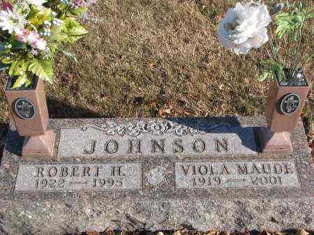 JOHNSON, VIOLA MAUDE - Clay County, South Dakota | VIOLA MAUDE JOHNSON - South Dakota Gravestone Photos