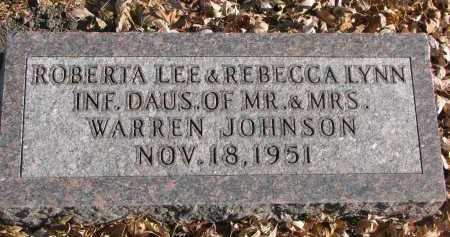 JOHNSON, REBECCA LYNN - Clay County, South Dakota | REBECCA LYNN JOHNSON - South Dakota Gravestone Photos