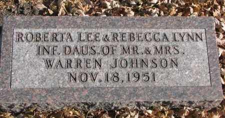 JOHNSON, ROBERTA LEE - Clay County, South Dakota | ROBERTA LEE JOHNSON - South Dakota Gravestone Photos