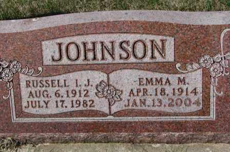 JOHNSON, EMMA M. - Clay County, South Dakota | EMMA M. JOHNSON - South Dakota Gravestone Photos