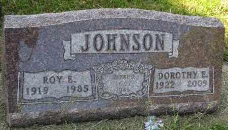 JOHNSON, DOROTHY E. - Clay County, South Dakota | DOROTHY E. JOHNSON - South Dakota Gravestone Photos
