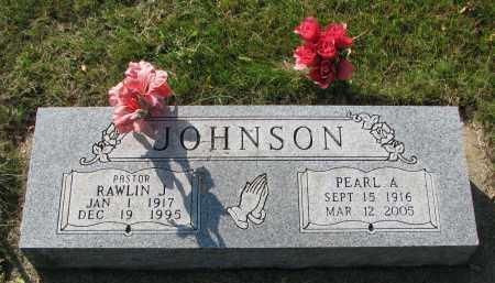 JOHNSON, RAWLIN J. - Clay County, South Dakota   RAWLIN J. JOHNSON - South Dakota Gravestone Photos