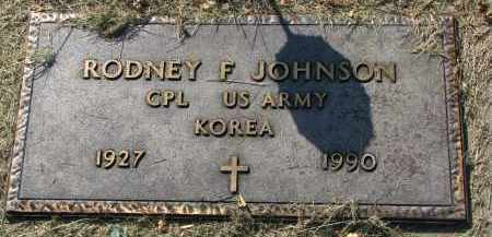 JOHNSON, RODNEY F. - Clay County, South Dakota | RODNEY F. JOHNSON - South Dakota Gravestone Photos