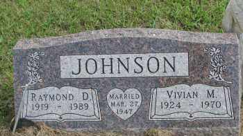 JOHNSON, RAYMOND D. - Clay County, South Dakota | RAYMOND D. JOHNSON - South Dakota Gravestone Photos