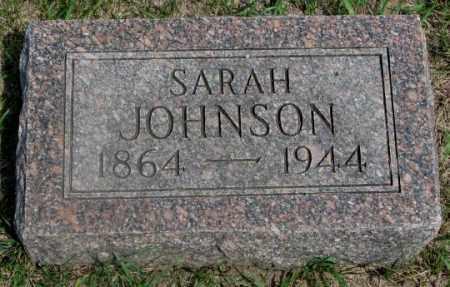 JOHNSON, SARAH - Clay County, South Dakota | SARAH JOHNSON - South Dakota Gravestone Photos