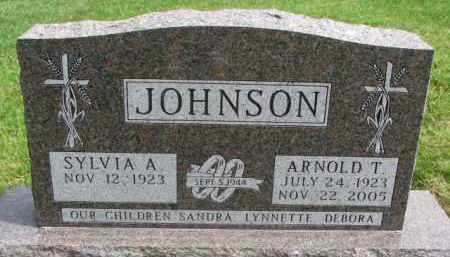 JOHNSON, ARNOLD T. - Clay County, South Dakota   ARNOLD T. JOHNSON - South Dakota Gravestone Photos