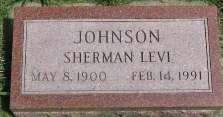 JOHNSON, SHERMAN LEVI - Clay County, South Dakota   SHERMAN LEVI JOHNSON - South Dakota Gravestone Photos