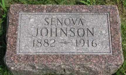 JOHNSON, SENOVA - Clay County, South Dakota | SENOVA JOHNSON - South Dakota Gravestone Photos