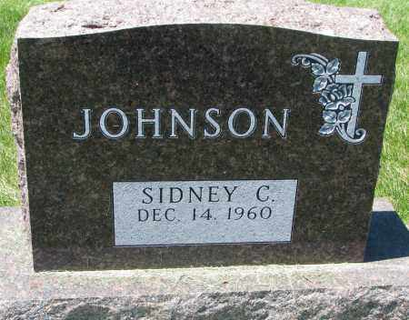 JOHNSON, SIDNEY C. - Clay County, South Dakota | SIDNEY C. JOHNSON - South Dakota Gravestone Photos