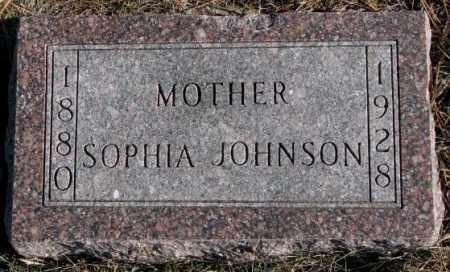JOHNSON, SOPHIA - Clay County, South Dakota | SOPHIA JOHNSON - South Dakota Gravestone Photos