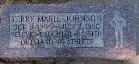 JOHNSON, TERRY MARIE - Clay County, South Dakota | TERRY MARIE JOHNSON - South Dakota Gravestone Photos