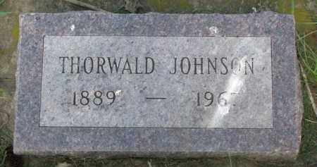 JOHNSON, THORWALD - Clay County, South Dakota | THORWALD JOHNSON - South Dakota Gravestone Photos