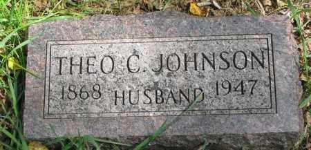 JOHNSON, THEO C. - Clay County, South Dakota | THEO C. JOHNSON - South Dakota Gravestone Photos