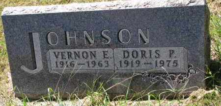 JOHNSON, VERNON E. - Clay County, South Dakota | VERNON E. JOHNSON - South Dakota Gravestone Photos