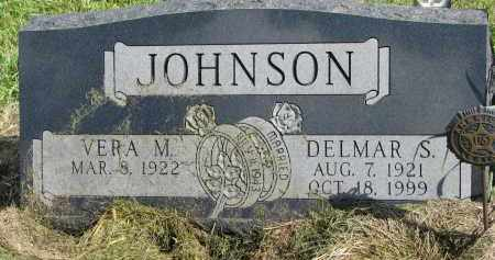 JOHNSON, DELMAR S. - Clay County, South Dakota | DELMAR S. JOHNSON - South Dakota Gravestone Photos
