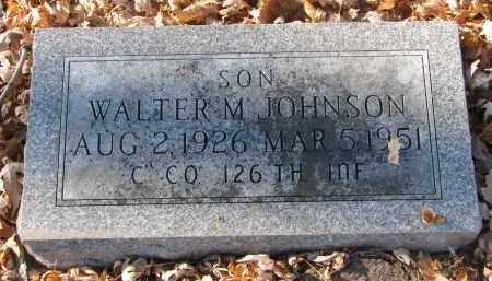 JOHNSON, WALTER M. - Clay County, South Dakota | WALTER M. JOHNSON - South Dakota Gravestone Photos