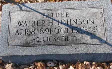 JOHNSON, WALTER H. - Clay County, South Dakota | WALTER H. JOHNSON - South Dakota Gravestone Photos