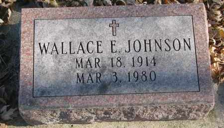 JOHNSON, WALLACE E. - Clay County, South Dakota | WALLACE E. JOHNSON - South Dakota Gravestone Photos