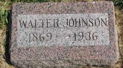 JOHNSON, WALTER - Clay County, South Dakota | WALTER JOHNSON - South Dakota Gravestone Photos