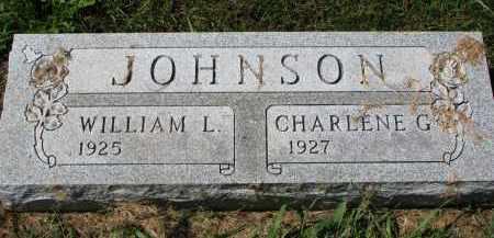 JOHNSON, WILLIAM L. - Clay County, South Dakota | WILLIAM L. JOHNSON - South Dakota Gravestone Photos