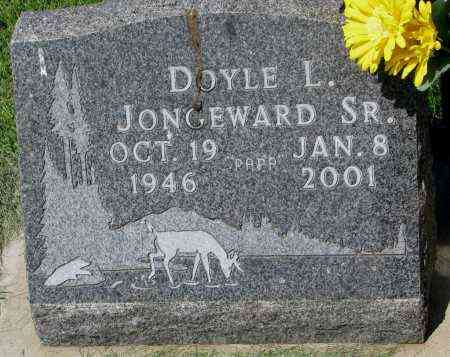 JONGEWARD, DOYLE L. SR. - Clay County, South Dakota | DOYLE L. SR. JONGEWARD - South Dakota Gravestone Photos