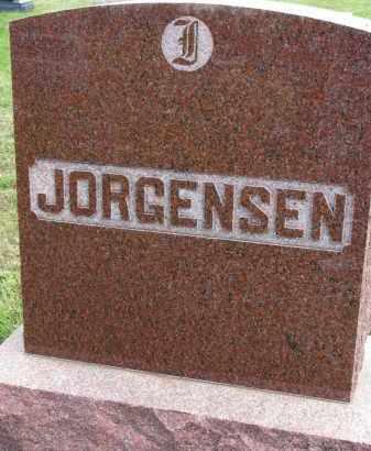 JORGENSEN, FAMILY STONE - Clay County, South Dakota   FAMILY STONE JORGENSEN - South Dakota Gravestone Photos