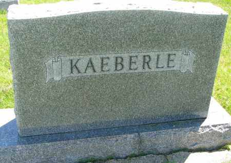KAEBERLE, FAMILY STONE - Clay County, South Dakota | FAMILY STONE KAEBERLE - South Dakota Gravestone Photos