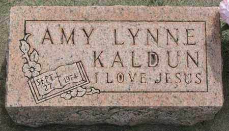 KALDUN, AMY LYNNE - Clay County, South Dakota   AMY LYNNE KALDUN - South Dakota Gravestone Photos