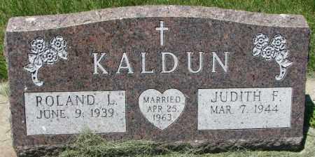 KALDUN, JUDITH F. - Clay County, South Dakota | JUDITH F. KALDUN - South Dakota Gravestone Photos